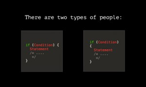 two types of programmers