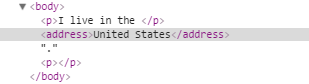 HTML scope
